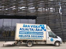 Suur kevadkoristus: Uuskasutuskeskuse kaubik teeb aprillis Tallinnas mitu kogumisringi