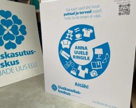 Во Всемирный день окружающей среды Uuskasutuskeskus запускает услугу переходящих ящиков для сбора вещей