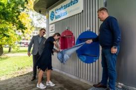 Центр повторного использования и Astri Grupp открыли в Нарве пункт приема вещей