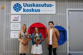 Uuskasutuskeskus и Astri Grupp открыли на рынке Балтийского вокзала и в Нарве пункты приема вещей